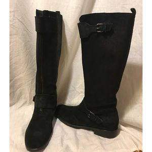 J. Crew Genuine Leather Front Zip Riding Boots